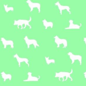 Sheepdogs Light Green