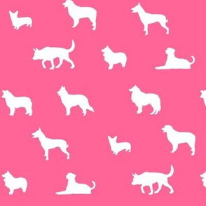 Sheepdogs Dark Pink