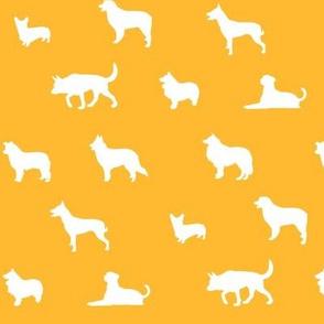 Sheepdogs Yellow