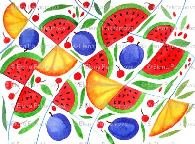 Fruit Kaleidoscope