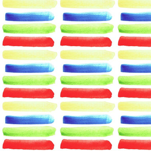 Bold Watercolor Lines Streaks
