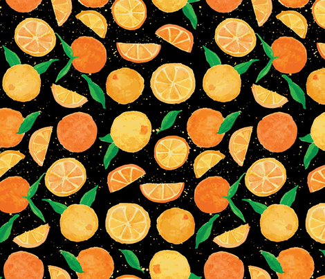 Freshly Squeezed fabric by moderntikilounge on Spoonflower - custom fabric