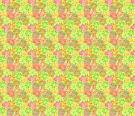 Vitamin C fabric by laura_mooney on Spoonflower - custom fabric