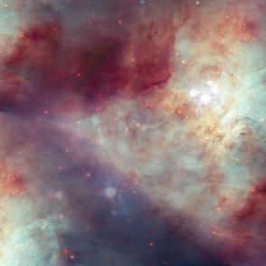 orion nebula abstract