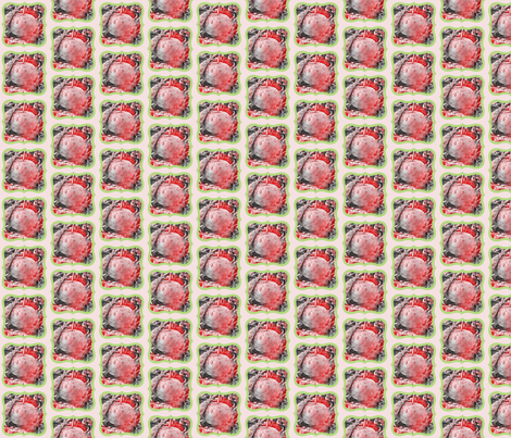 Pink Apple Medallion fabric by whimsydesigns on Spoonflower - custom fabric