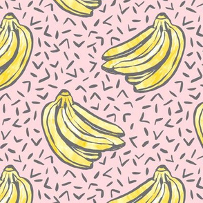 Go Bananas! - Pink - *medium scale*