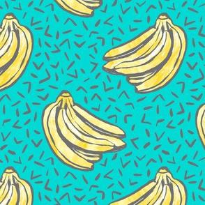 Go Bananas! - Teal - *medium scale*