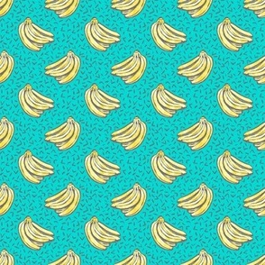 Go Bananas! - Teal - *small scale*