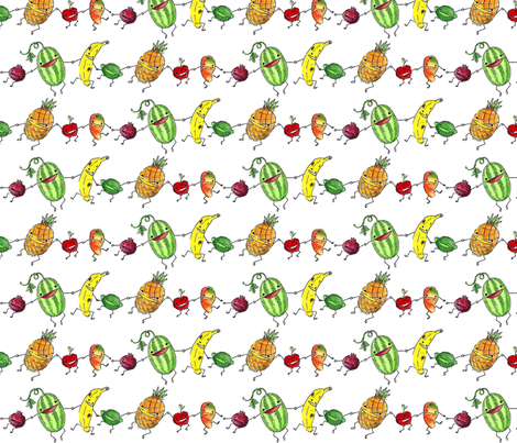 fruit_medley fabric by beaverrebellion on Spoonflower - custom fabric