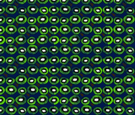Kiwis and Kiwis fabric by brooklynsouthern on Spoonflower - custom fabric