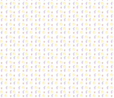 Soft Fruit fabric by arianrhoddesigns on Spoonflower - custom fabric
