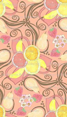 Whimsical Fruit Medley