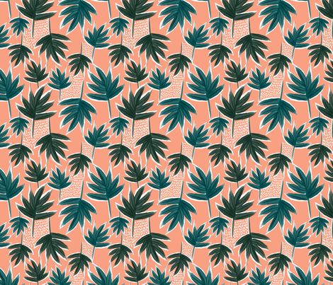 jungle 4 fabric by laura_may_designs on Spoonflower - custom fabric