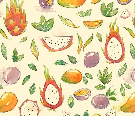 Tutty Fruity fabric by rocsanne_putri on Spoonflower - custom fabric