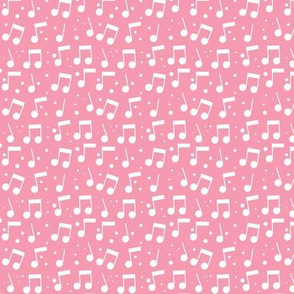 Bird Song Music Pink