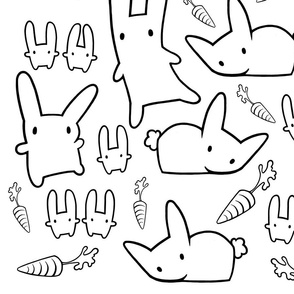 Rabbit_Carrot_Pattern