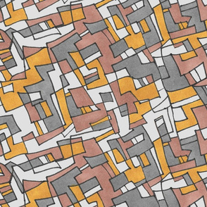 Overlapping Squares Pattern