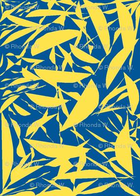 Lemon Crisp on Summer Seas Blue