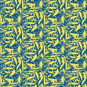 Lemon Crisp on Summer Seas Blue