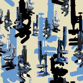 Microscope Madness - Blue