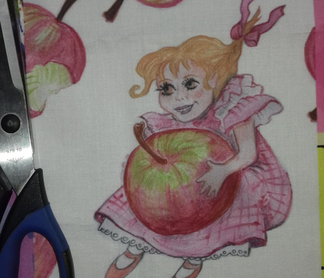 No more apples for you, little lady!