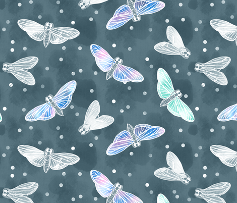 Moth Balls are a MUST fabric by pinky_wittingslow on Spoonflower - custom fabric