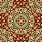 Oriental medieval pattern