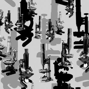 Microscope Madness - Grey