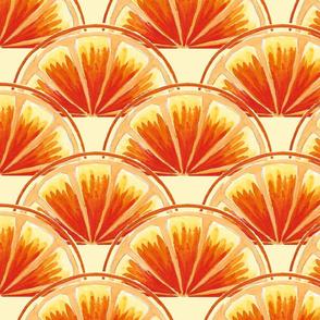 orange slice scallop