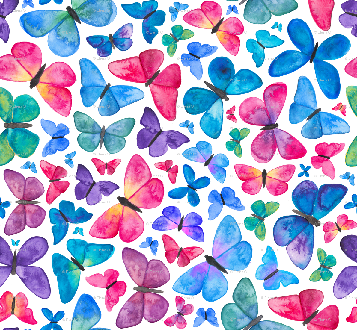 Butterfly Pattern Cool Decoration