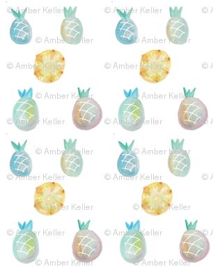 pineapplewatercolor4