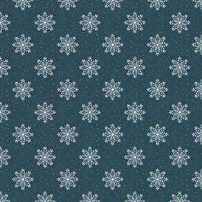 Chalk Snowflake - Yuletide - Nordic Winter