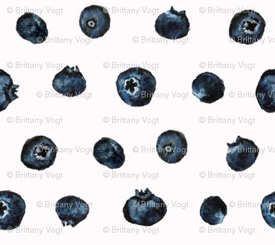 Blueberry Polka Dots