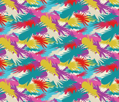 dapple_flower_cw3 fabric by jerebrooks on Spoonflower - custom fabric