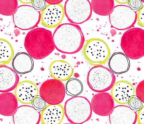 juicy fruit fabric by mulo_marrone on Spoonflower - custom fabric