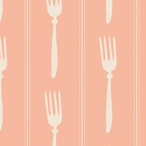 Tinestripe ~ salmon bisque