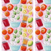 Fruit  whimsical_watercolor_design