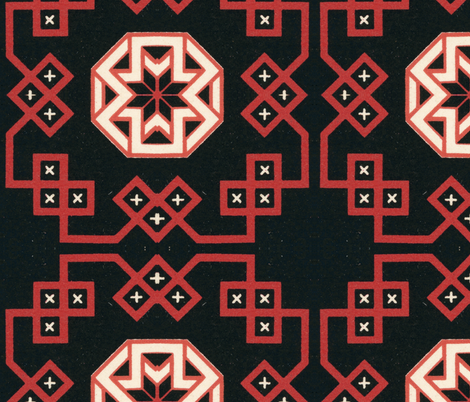 renaissance 24 fabric by hypersphere on Spoonflower - custom fabric