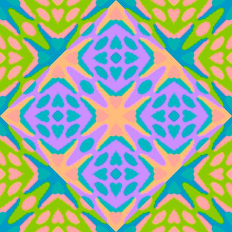 Tribal Mod 1 fabric by anneostroff on Spoonflower - custom fabric