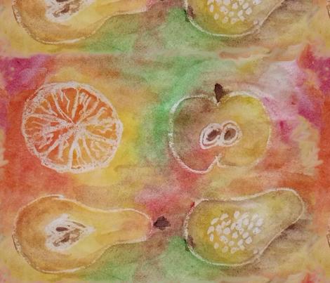 Fruits fabric by belana on Spoonflower - custom fabric
