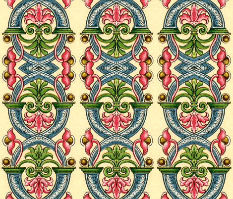 renaissance 30 fabric by hypersphere on Spoonflower - custom fabric