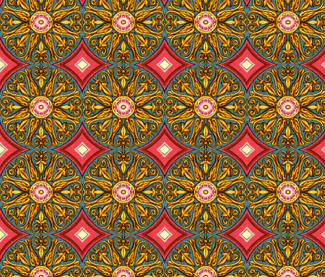 renaissance 33 fabric by hypersphere on Spoonflower - custom fabric