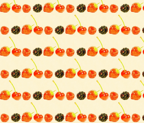 Berry Sweet! fabric by heckadoodledo on Spoonflower - custom fabric