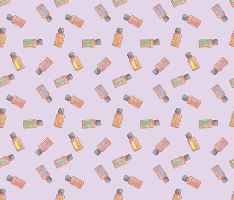 EO v.2 Scatter Lavender fabric by astrobarndesign on Spoonflower - custom fabric