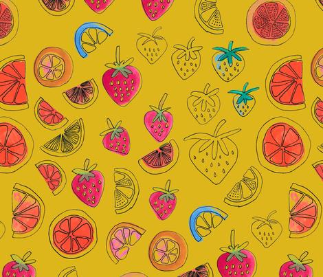 Fruit Punch fabric by bashfulbirdie on Spoonflower - custom fabric