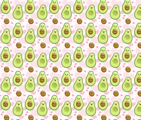 Avocado Mamas fabric by amomalous on Spoonflower - custom fabric