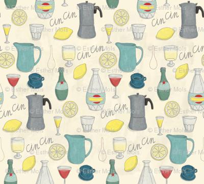 CinCin - Italian for Cheers!