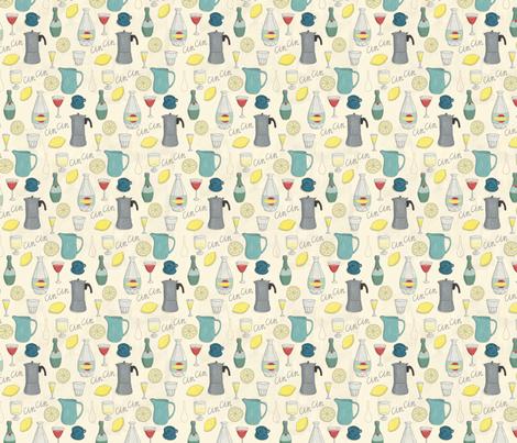 CinCin - Italian for Cheers! fabric by esthermols on Spoonflower - custom fabric