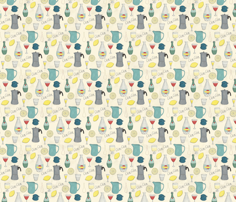 CinCin - Italian for Cheers! fabric by esthermols on Spoonflower - custom fabric