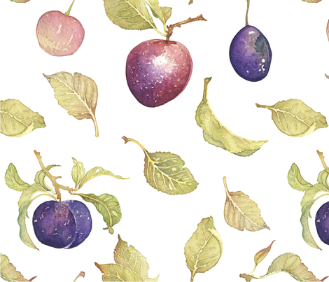 Plum2 fabric by scwtrcolors on Spoonflower - custom fabric